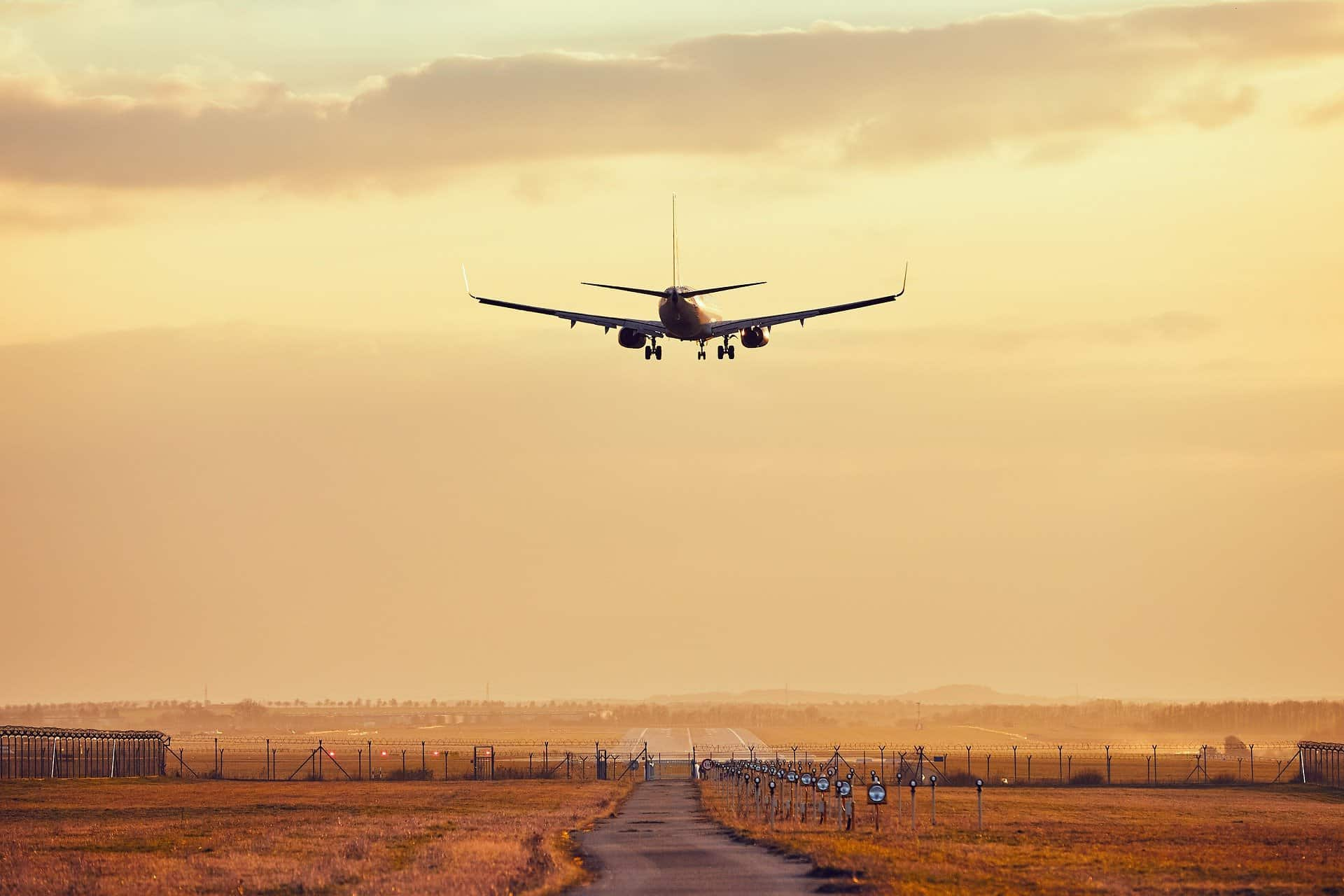 Airplane Arrival